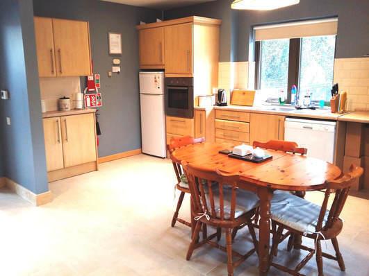 Kitchen area in MDI's
