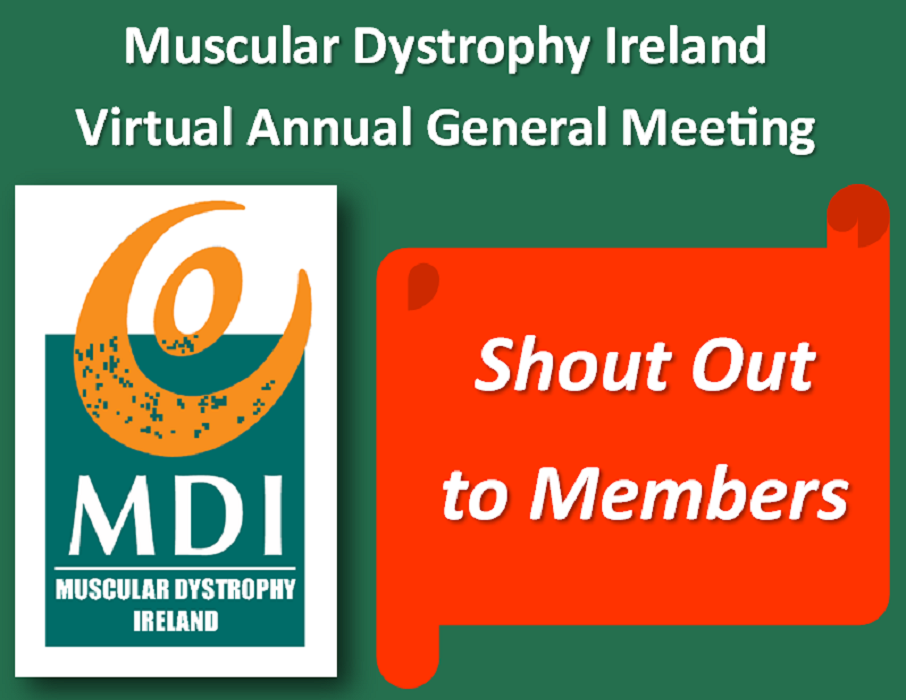 Virtual AGM – Shout Out to Members